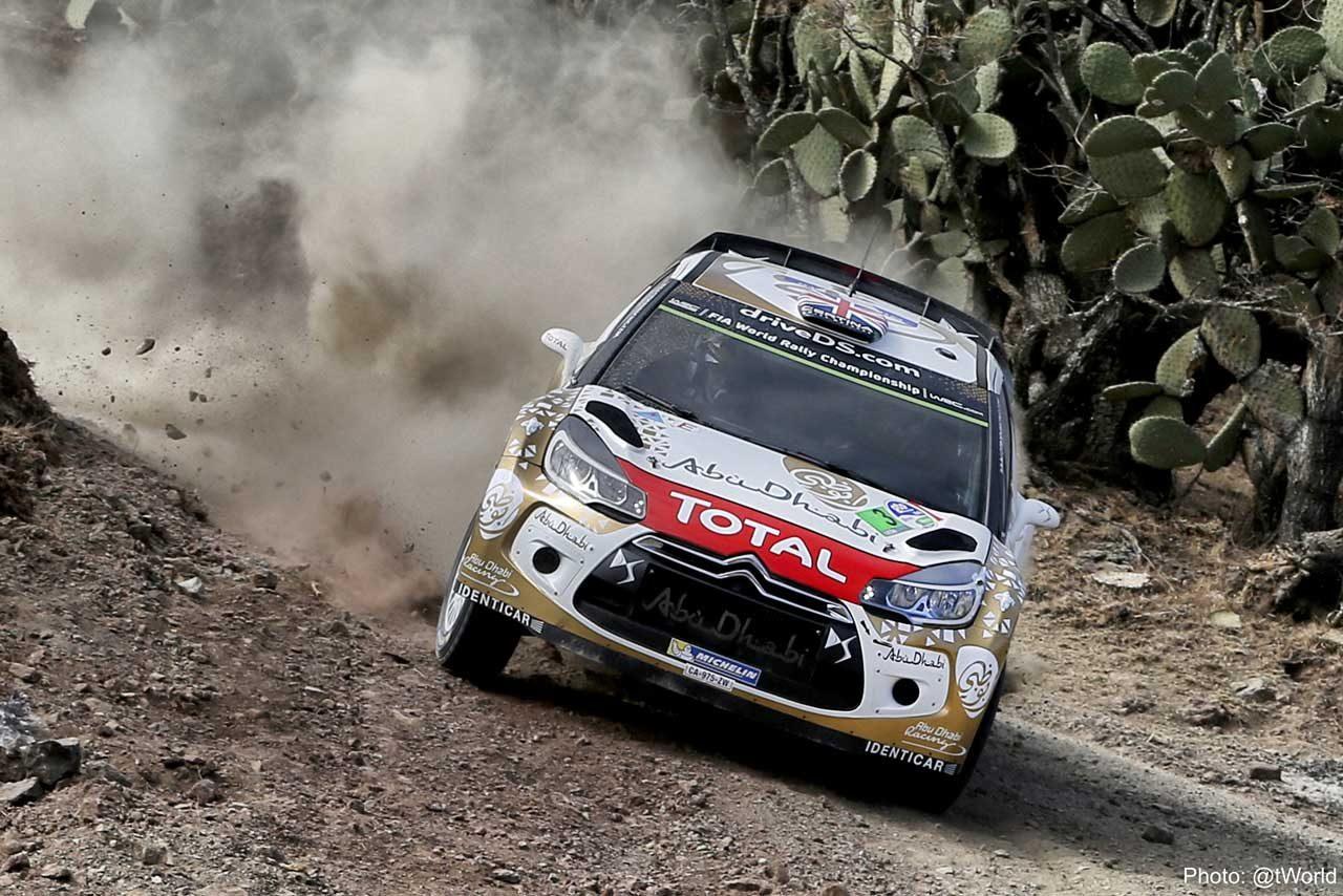 WRCメキシコ:シェイクダウンはオジェがトップ(3)