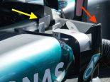 F1 | メカアップデート:メルセデス、こだわりの整流