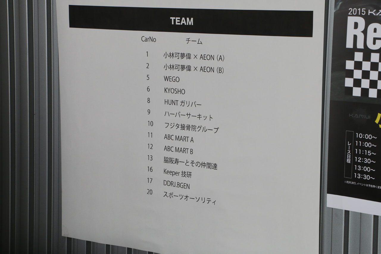 可夢偉×イオンのカート大会開催。プロも多数登場