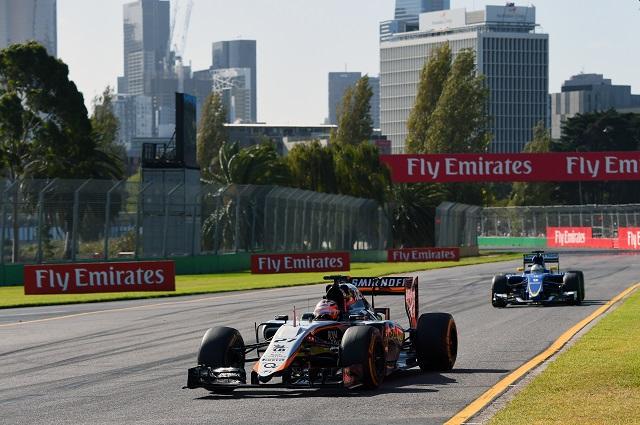 2015年オーストラリアGP ニコ・ヒュルケンベルグ(フォース・インディア)