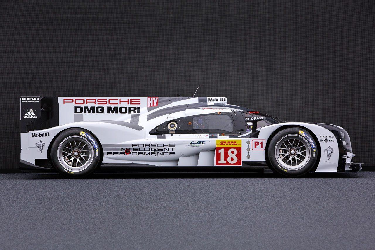 ポルシェ、15年仕様LMP1を発表。8MJを選択(4)