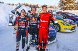 ラリー/WRC | RallyX on ICE開幕戦、GRCホンダ・ワークスのオリバー・エリクソンが初勝利