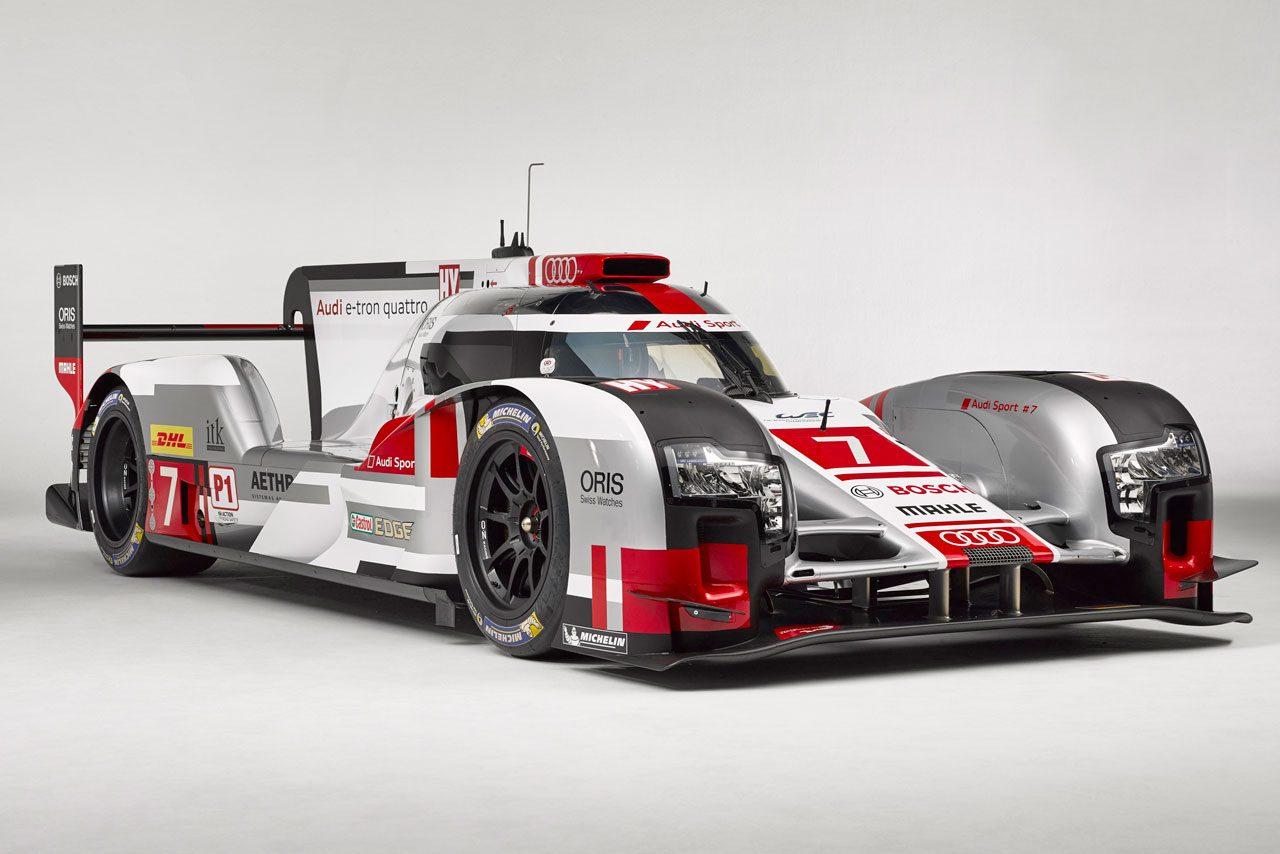 アウディ、ル・マン仕様LMP1公開。スパに2台登場