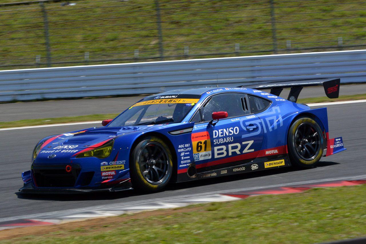 SGT富士:GT300練習走行はB-MAXがトップ(5)