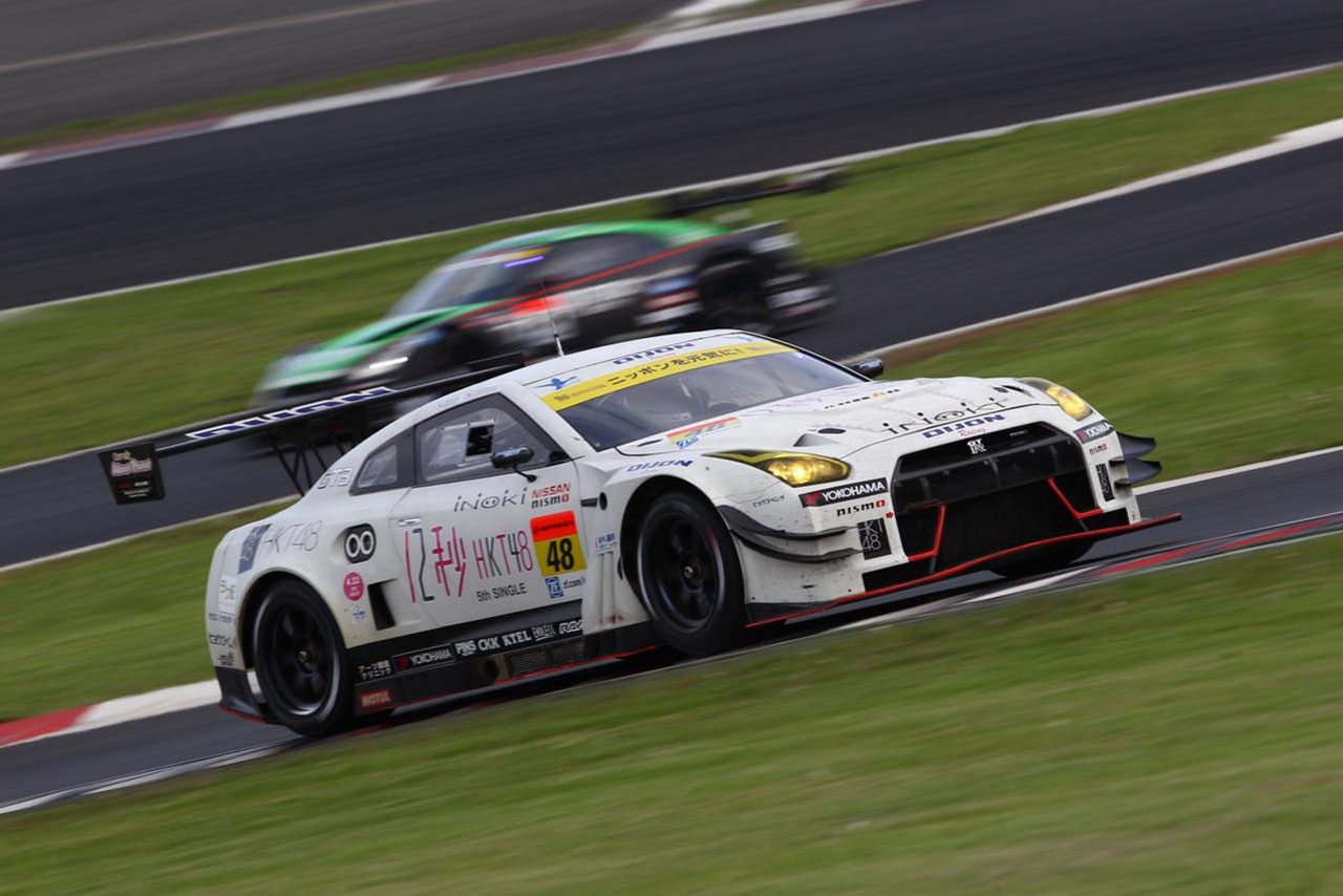 DIJON Racing、SGT富士は7位走行中にリタイア(1)