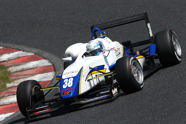 全日本F3、金曜専有走行は福住が首位(4)