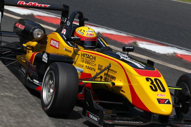 全日本F3、金曜専有走行は福住が首位(5)