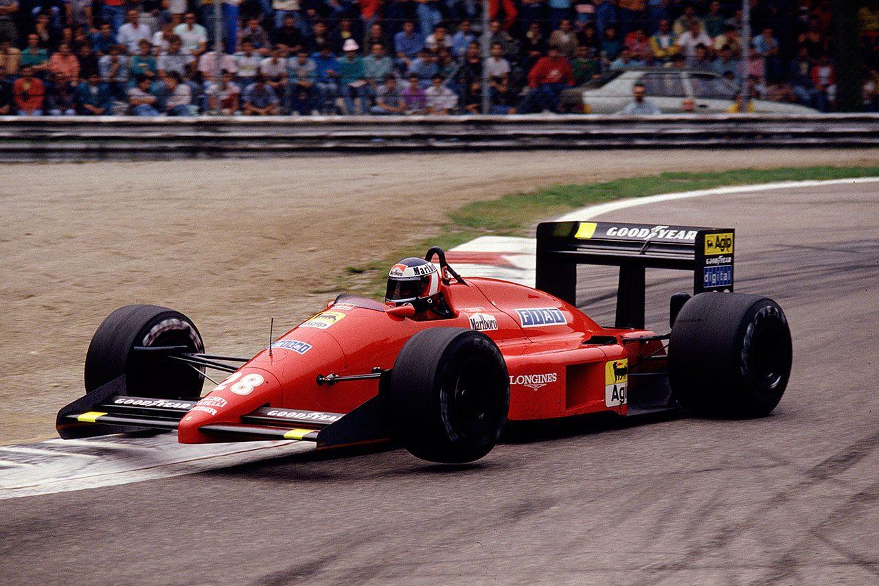 【鈴鹿に登場】鈴鹿F1初代勝者:フェラーリF187(1)