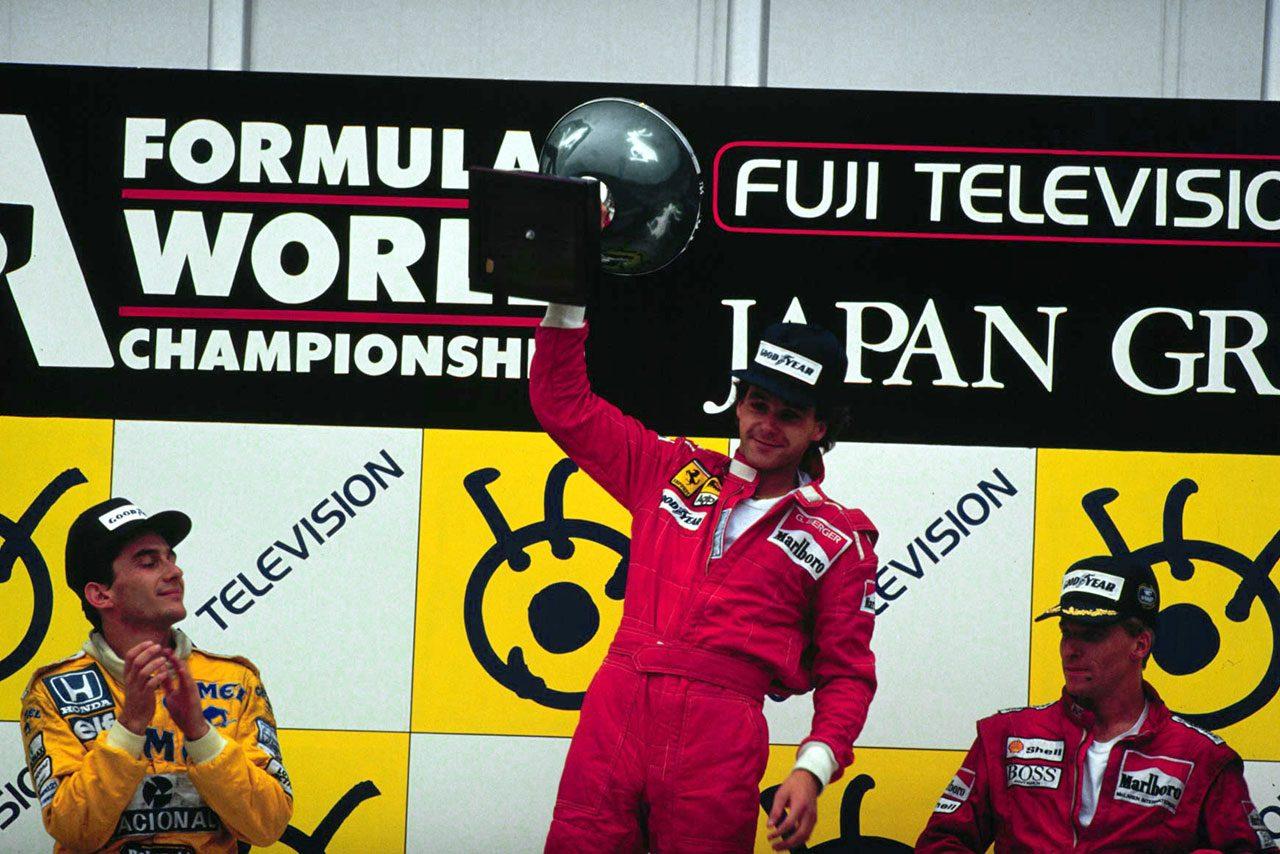 【鈴鹿に登場】鈴鹿F1初代勝者:フェラーリF187(2)