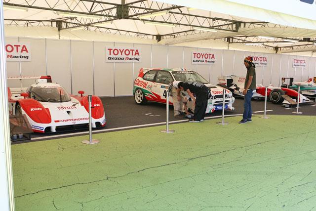 SF岡山はイベントも盛り沢山。TF109の展示も(2)