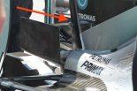 F1 | メカUPDATE:メルセデスの新型モンキーシート