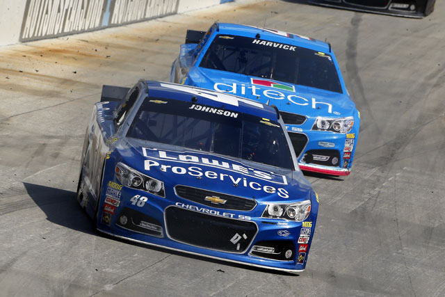 NASCAR:ジョンソン4勝目。シボレーが上位独占(2)