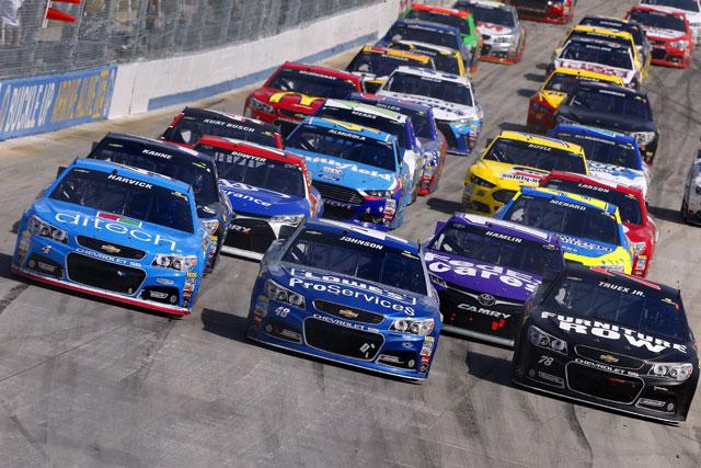 NASCAR:ジョンソン4勝目。シボレーが上位独占(3)
