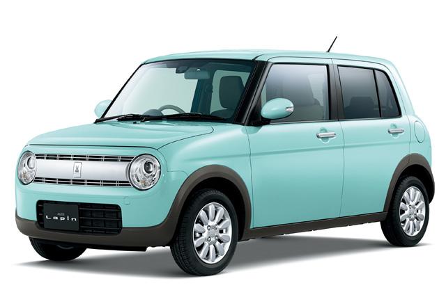 スズキ、新型軽乗用車「アルト ラパン」を発売(1)
