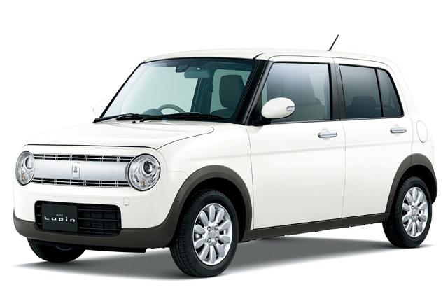 スズキ、新型軽乗用車「アルト ラパン」を発売(2)