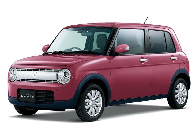 スズキ、新型軽乗用車「アルト ラパン」を発売(3)