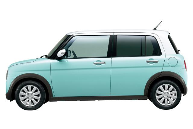 スズキ、新型軽乗用車「アルト ラパン」を発売(4)