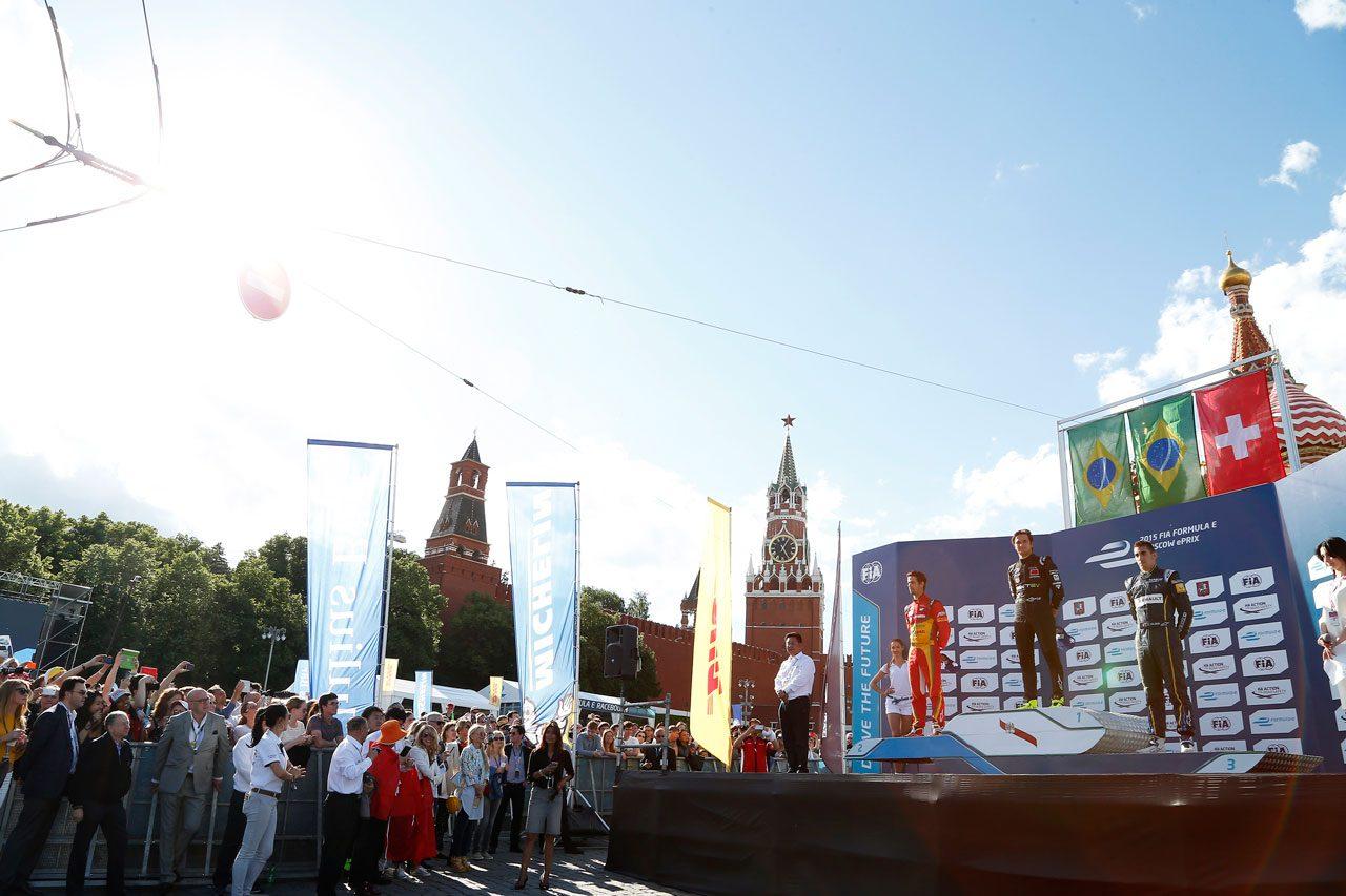 フォーミュラE第9戦モスクワ写真ギャラリー(1)
