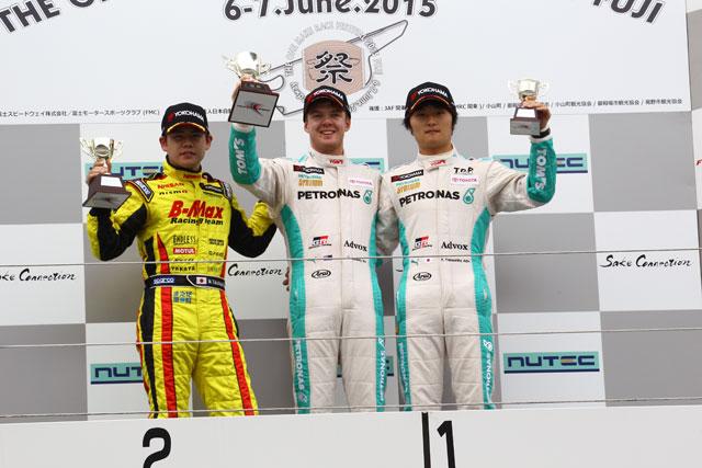 全日本F3第9戦 決勝上位ドライバーコメント