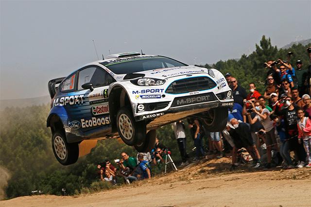 WRCイタリア:パッドン痛恨のスピンでオジェ逆転(5)