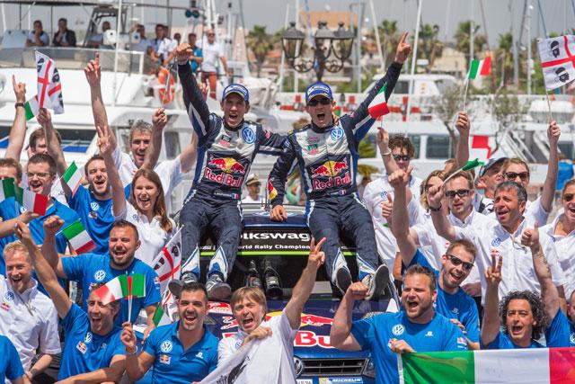 WRCイタリア:暫定総合結果(1)