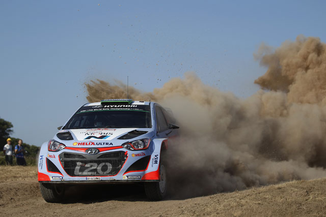 WRCイタリア:オジェ優勝。パッドンは初の表彰台(3)