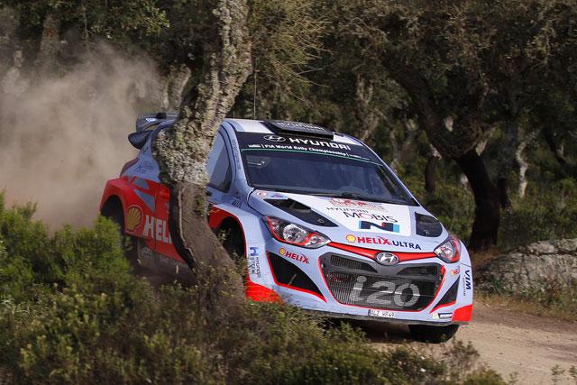 WRCイタリア:オジェ優勝。パッドンは初の表彰台(4)