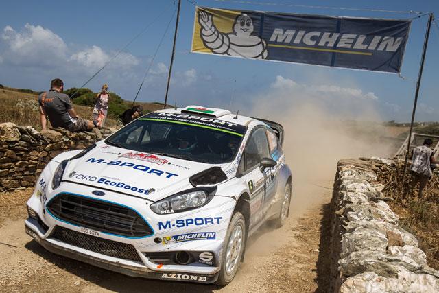 WRCイタリア:オジェ優勝。パッドンは初の表彰台(5)