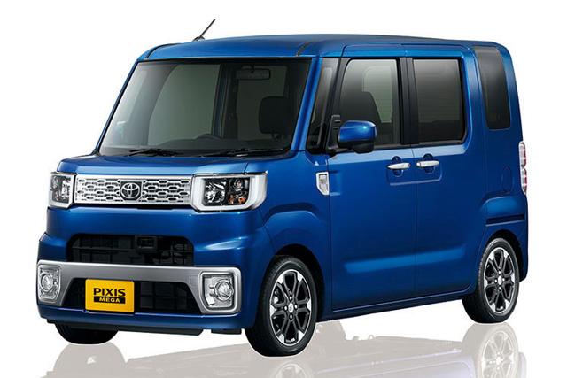 トヨタ、新型軽「ピクシス メガ」を発売(1)