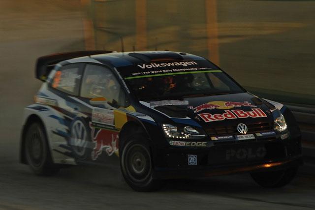 WRCポーランド:オジェ首位。クビカが僅差で続く(3)