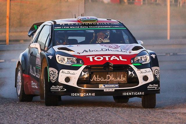 WRCポーランド:オジェ首位。クビカが僅差で続く(4)