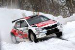 ラリー/WRC | JSR:本州初上陸のシュコダ・ファビアR5が開幕戦勝利。炭山/保井は大会2連覇