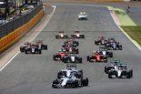F1   「ドライバーアシスト禁止でスタート失敗が増える」とロズベルグ&ハミルトン