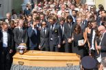 F1   ビアンキの葬儀に多くのF1ドライバーが参列