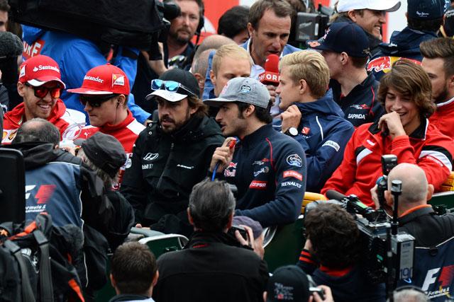 2015年オーストリアGP ドライバーパレード