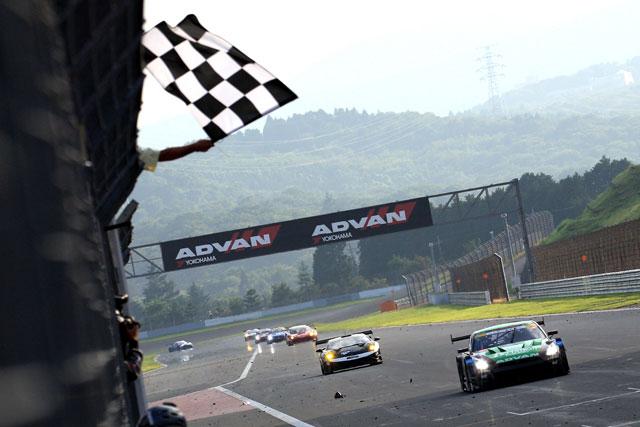 SGT富士でヨコハマ装着車が5年振りにGT500で優勝(1)