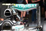 F1 | メカUPDATE:メルセデスの新型リヤウイング