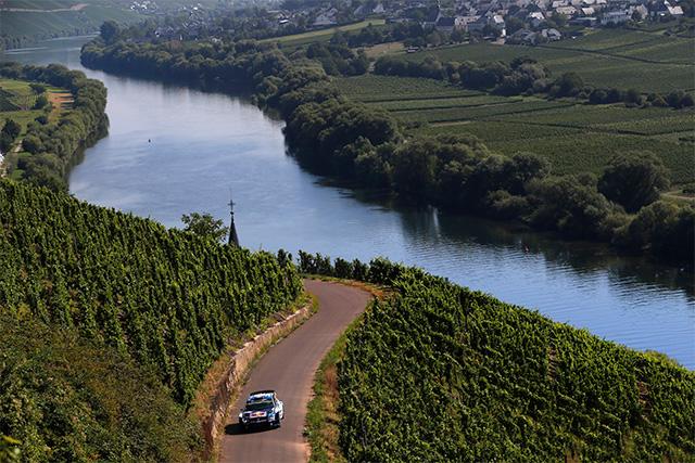 WRCドイチェランド:SS8後 暫定結果(1)