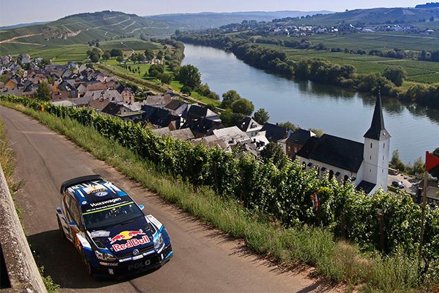 WRCドイツ:VW同士のバトル。初日はオジェに軍配(1)