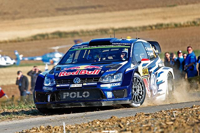 WRCドイツ:VW同士のバトル。初日はオジェに軍配(2)