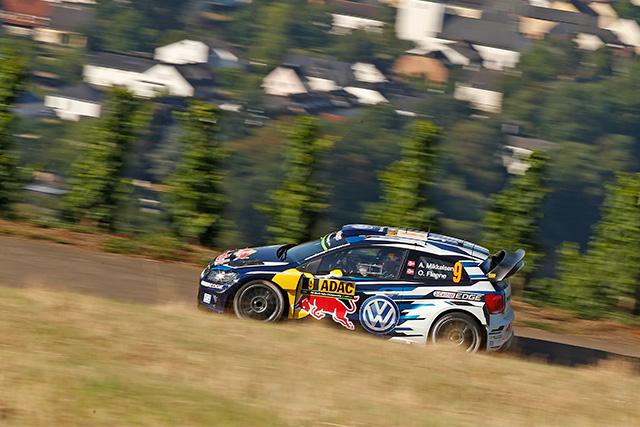 WRCドイツ:VW同士のバトル。初日はオジェに軍配(3)