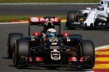 F1   【決勝無線】涙の表彰台、たった2周のストラット7