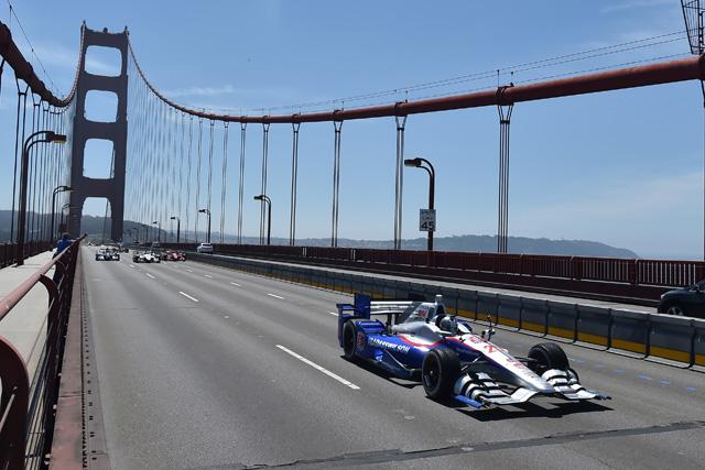 ウィルソン、ゴールデンゲートブリッジを駆ける(2)