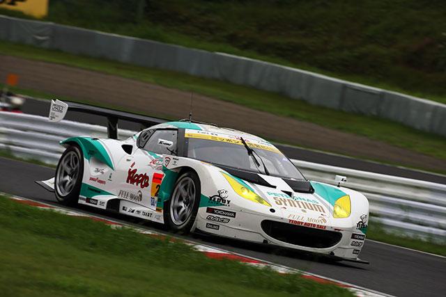 GT300予選:ロータスが初PP、88kgGAINER2番手(1)