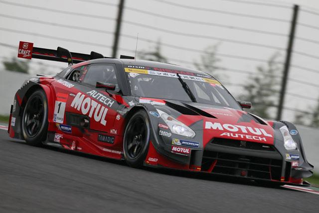 GT500:ランキング2位のMOTULが驚きのPP獲得(1)