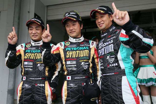 GT300予選:ロータスが初PP、88kgのGAINER2番手(1)
