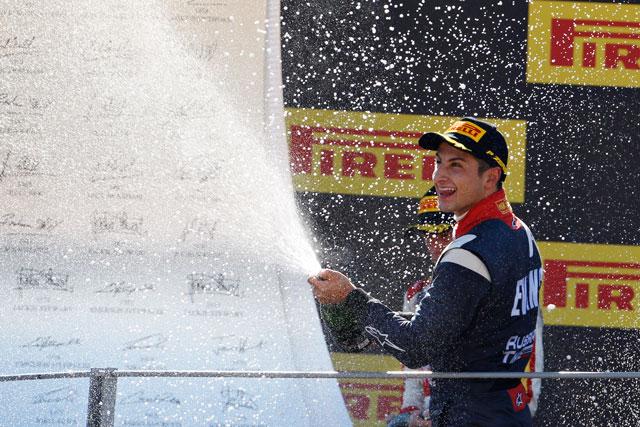 GP2モンツァ決勝2結果・エバンス、最終周で逆転(1)