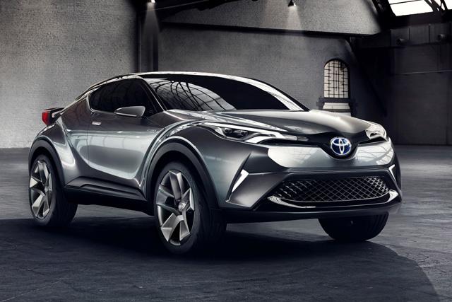 トヨタ、新世代のコンパクトクロスオーバー発表(1)