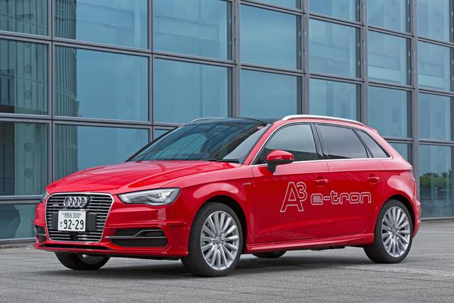 アウディ、新型A3 Sportback e-tronを年内に発売へ(1)