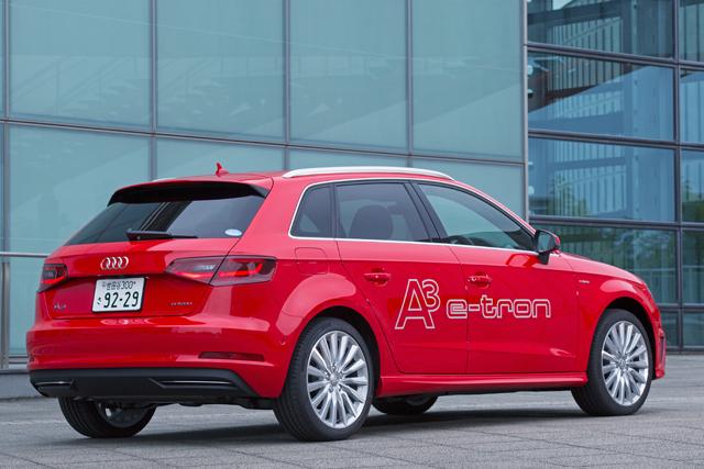 アウディ、新型A3 Sportback e-tronを年内に発売へ(2)